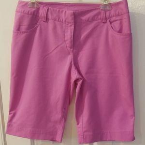 Adidas Women's ClimaLite Bermuda Golf Shorts